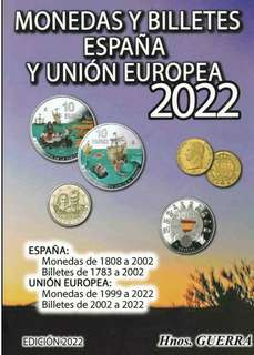 Catalogue coins of Spain 2013. Guerra.