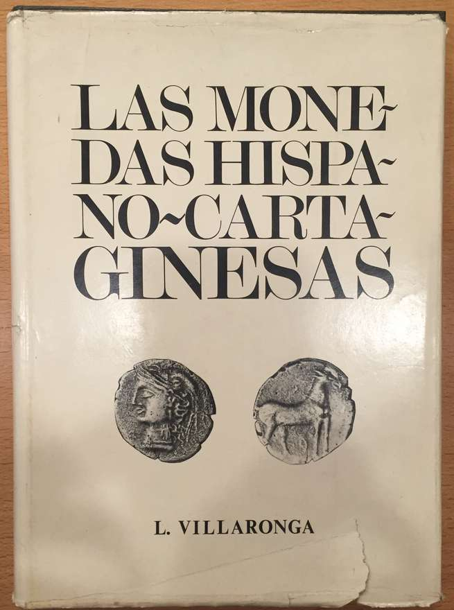 LAS MONEDAS HISPANO CARTAGINESAS. L. VILLARONGA Phildom