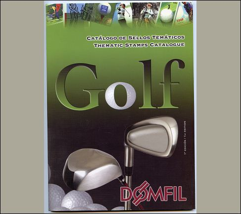 Thematic stamps catalogue of GOLF 1 ed.