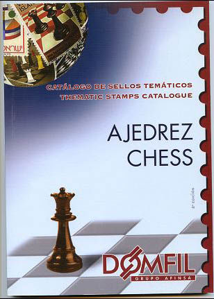 Thematic stamps catalogue of CHESS 2ª edi.