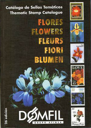 Thematic stamps catalogue of FLOWERS Edi.26