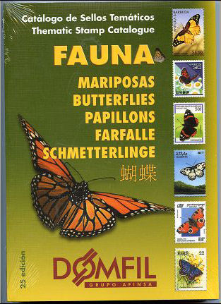 Thematic stamps catalogue of BUTTERFLIES