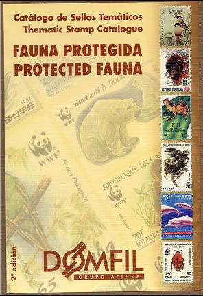 Thematic stamps catalogue of WWF