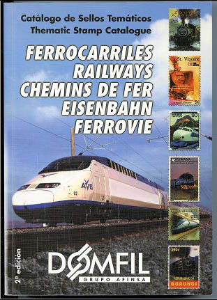 Thematic stamps catalogue of TRAINS