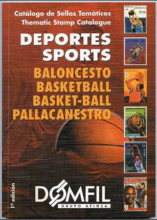 Thematic stamps catalogue of BASKETBALL