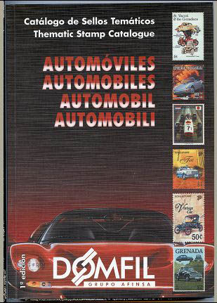 Thematic stamps catalogue of AUTOMOBIL