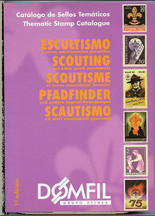 Thematic stamps catalogue of SCOUTING