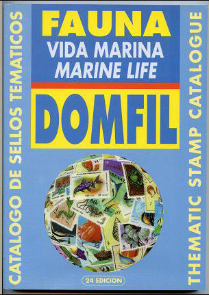 Thematic stamps catalogue of MARINE LIVE