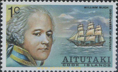 DESCUBRIMIENTO DE AITUTAKI POR WILLIAM BLIGH