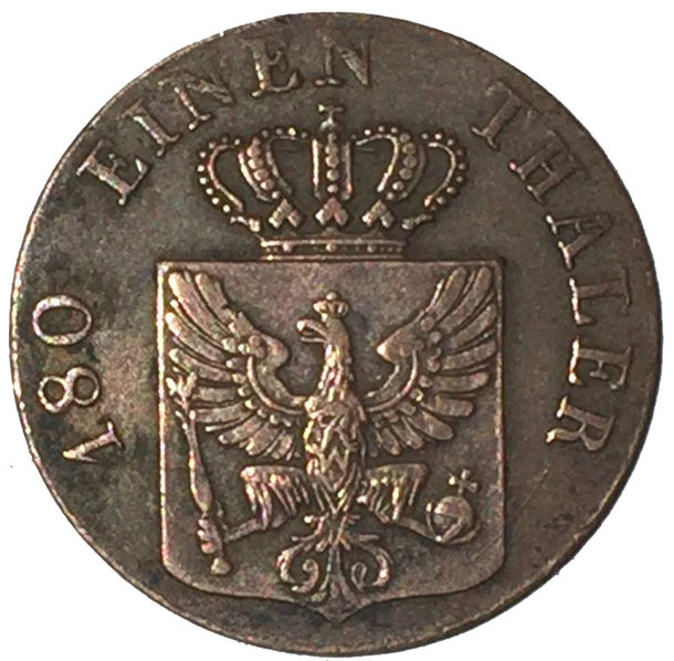 GERMAN 2 PFENNINGE 1834 ALEMANIA
