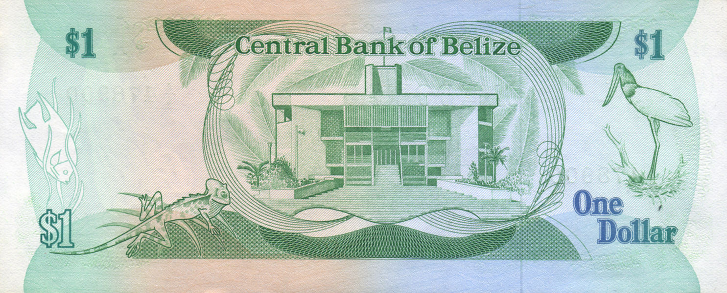 1 DOLLAR BELIZE 1983