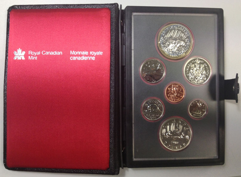 PROOF SET CANADA1980