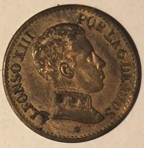 ALFONSO XIII 1 CENTIMO 1906 *6