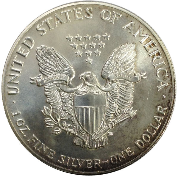 1987 SILVER AMERICAN EAGLE UNCIRCULATED