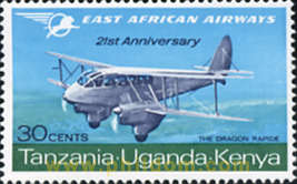 21 ANIVERSARIO DE EAST AFRICAN AIRWAYS