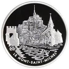 FRANCE 1.50 EURO 2002 MONUMENTS MONT SAINT MICHEL SILVER 1 1/2
