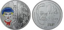 2002 FRANCE SILVER COLOR 1.5 EURO GAVROCHE,LES MISERABLES/VICTOR HUGO