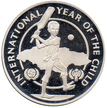 10 DOLLAR 1979 YEAR OF THE CHILD