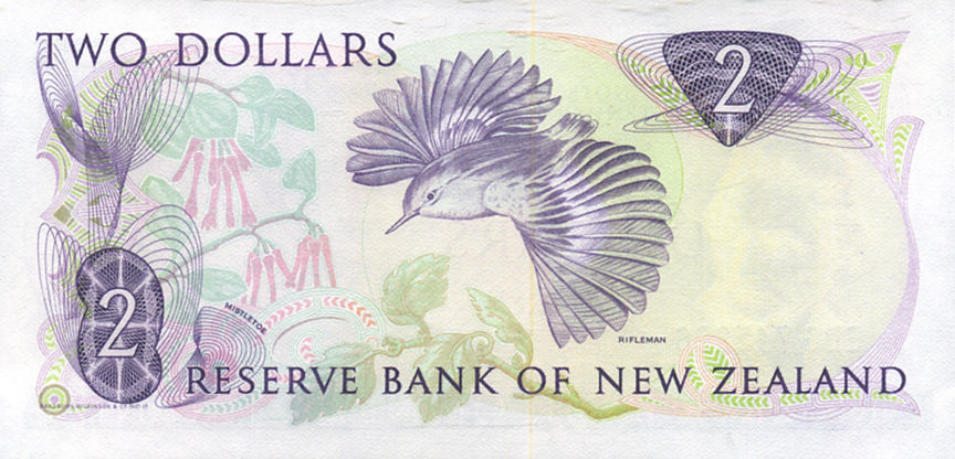 2 DOLLAR NEW ZEALAND 1985-89 NUEVA ZELANDA