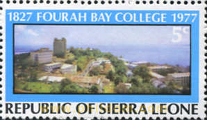 150 ANIVERSARIO DE FOURAH BAY COLLEGE