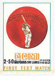 1 MATCH-TEST DE CRICKET ENTRE SRI LANKA Y INGLATERRA