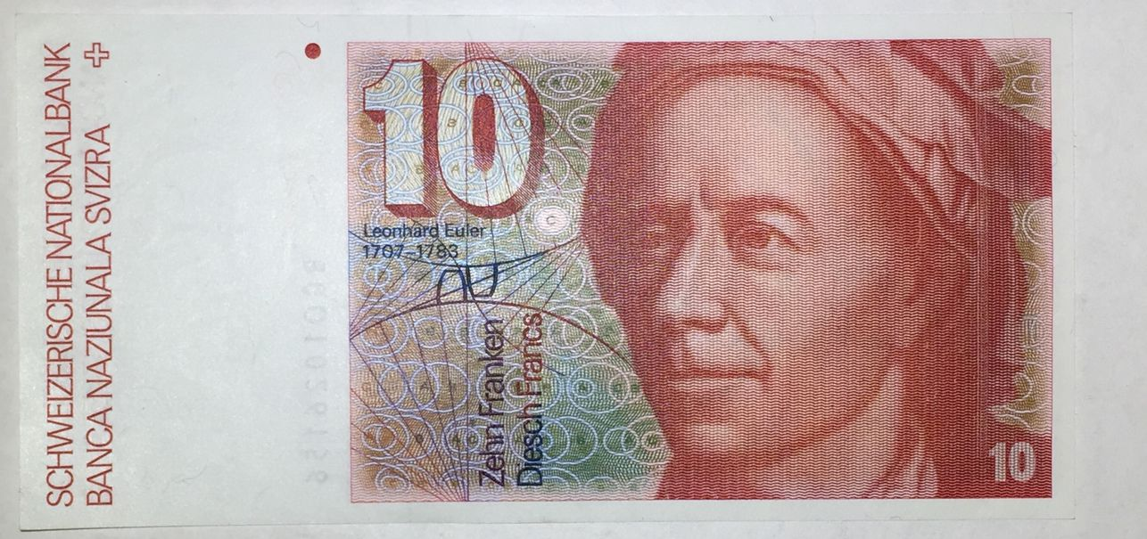 10 FRANCS SWITZERLAND 1981 SUIZA